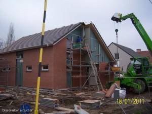 Phase finale de construction